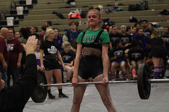 Powerlifting Anna